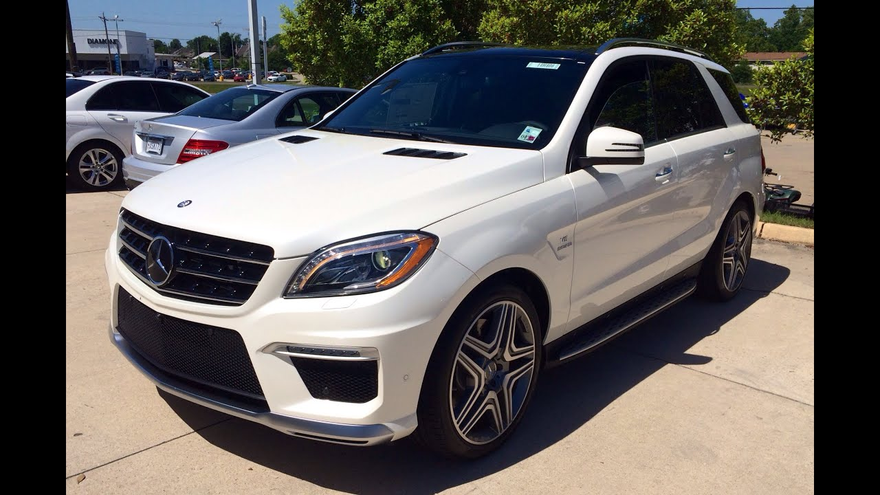 2014 mercedes benz m class ml63 amg exterior interior in for Mercedes benz amg ml63
