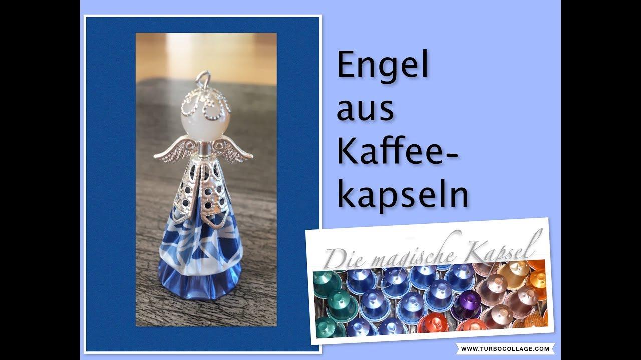DIY Engel aus Kaffeekapseln - Anleitung - die magische (Kaffee-) Kapsel