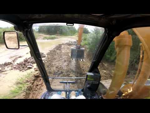 How to start Hyundai 235LCR 9A digger