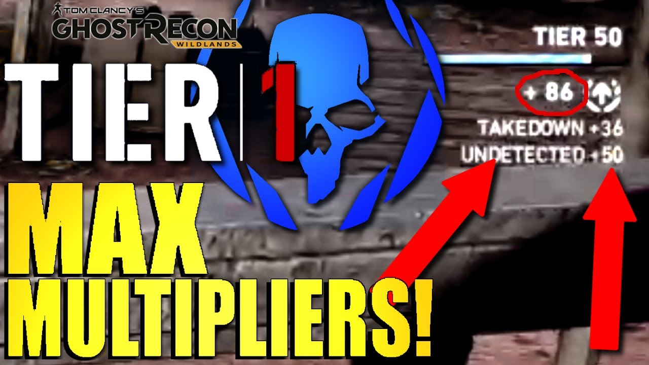 Tier 1 Xp Multipliers In Ghost Recon Wildlands Get Ma