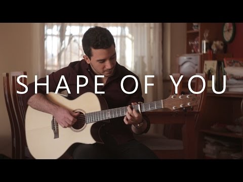 Shape Of You - Ed Sheeran (fingerstyle guitar cover by Peter Gergely) [WITH TABS]