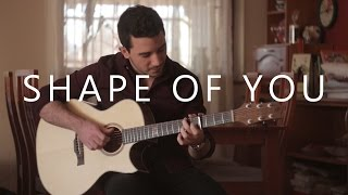 Shape Of You Ed Sheeran Fingerstyle Guitar Cover By Peter Gergely
