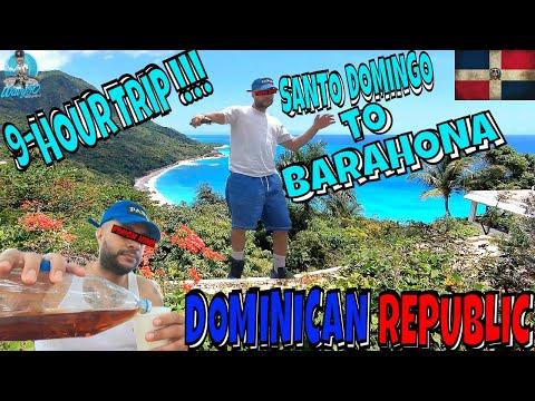 SANTO DOMINGO TO BARAHONA | 9-HOUR TRIP!!! | DOMINICAN REPUBLIC