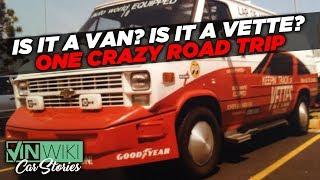 8,800 miles in a van dressed as a Corvette