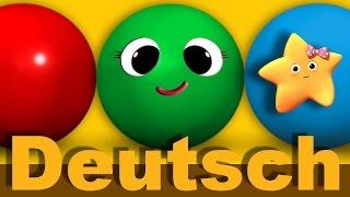 Dinge und Farben lernen   Kinderlieder   LittleBabyBum