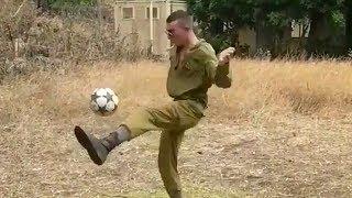 החייל המקפיצן מקבל פרגון לא צפוי מברזיל
