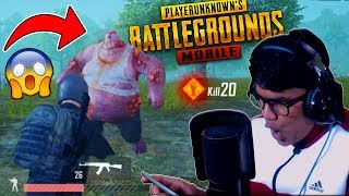 PUBG MOBILE ZOMBIES EVENT MODE 😱😱
