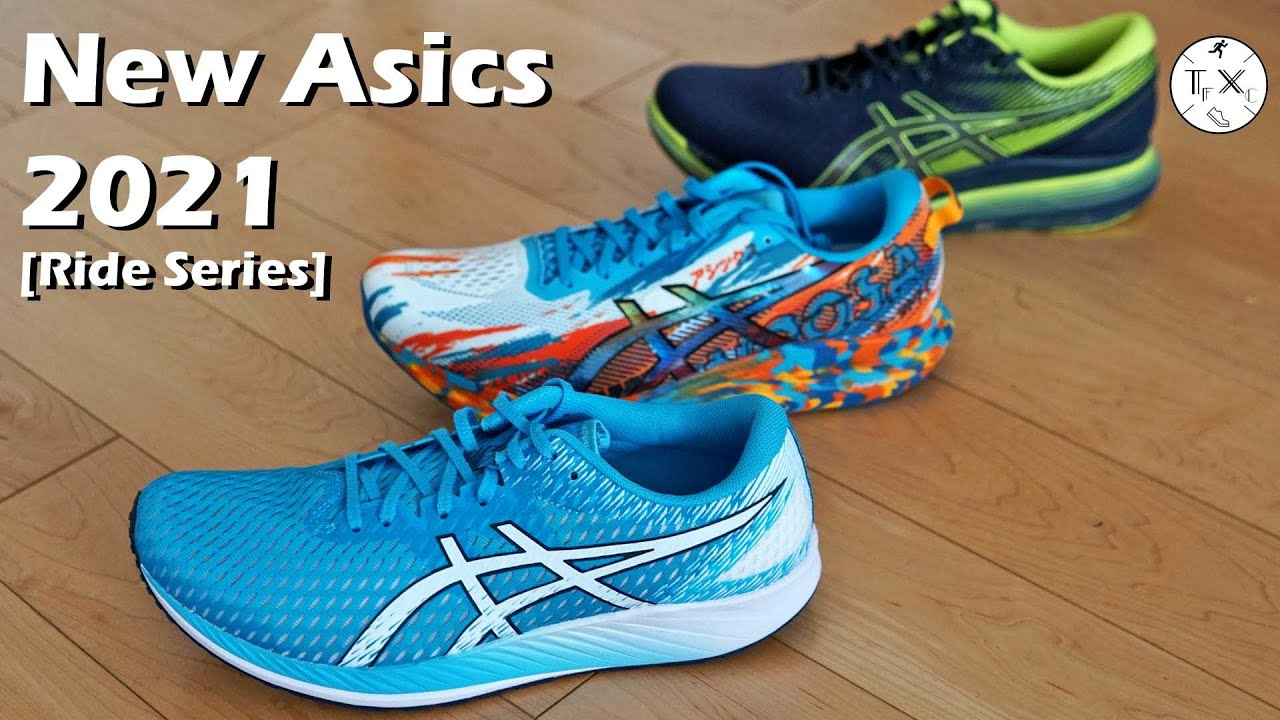New Asics Shoes 2021 [Ride Series]