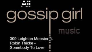 Leighton Meester ft. Robin Thicke - Somebody To Love