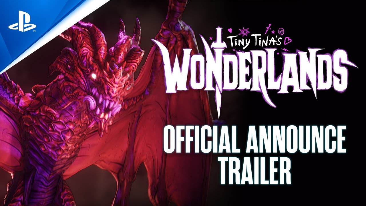Tiny Tina's Wonderlands – Official Announce Trailer | PS5, PS4