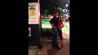 Drunk couple out of control
