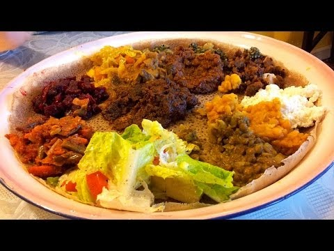 Let's Eat at an Ethiopian Restaurant