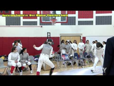 Girls' Varsity Fencing vs West Windsor Plainsboro South, 2016