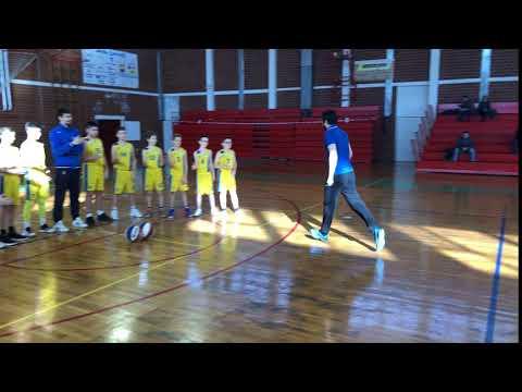 Trener Jurica Hegeduš pozdravlja naše najmlađe...