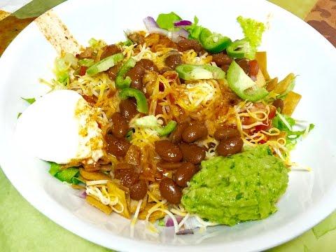 Mexican Bhel Video Recipe | Fusion Indian Mexican Cuisine Recipe