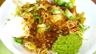 Mexican Bhel Video Recipe | Fusion Indian Mexican Cuisine Recipe