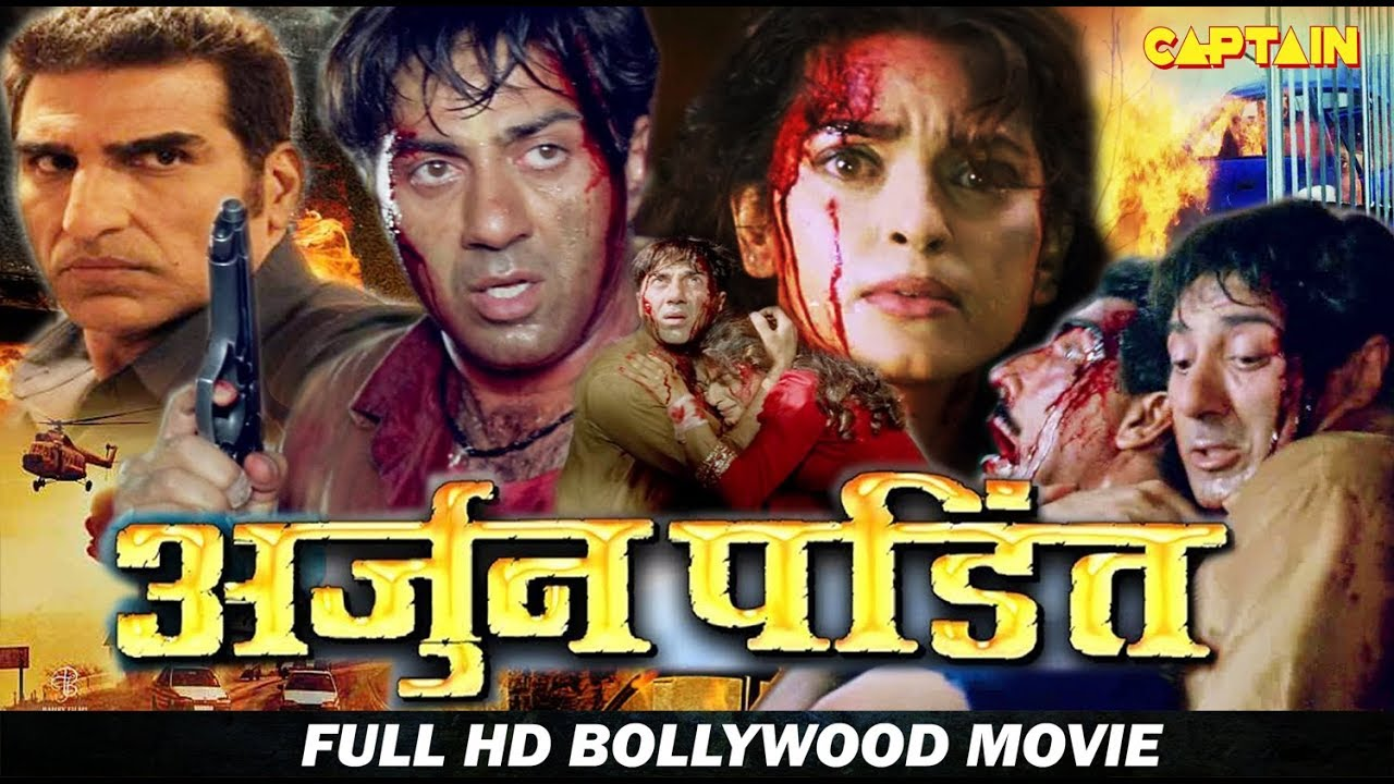 Download Arjun Pandit - Sunny Deol - Juhi Chawla - Bollywood HD Movie Without Songs