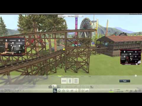 RollerCoaster Tycoon World @ PAX Prime - Alienware Livestream