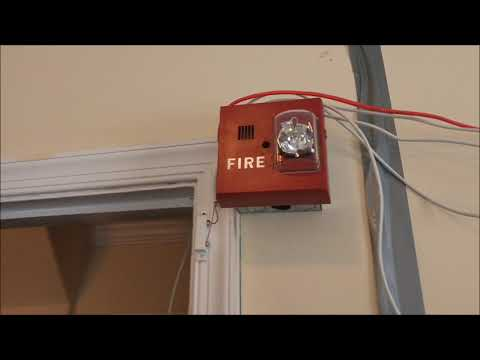 March 2018 Fire Alarm System Test