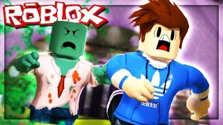 Roblox Adventures - ZOMBIE FLOOD ESCAPE! (Halloween Flood Escape)