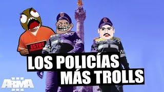 LOS 2 POLICÍAS MÁS TROLLS DE LA HISTORIA ARMA 3