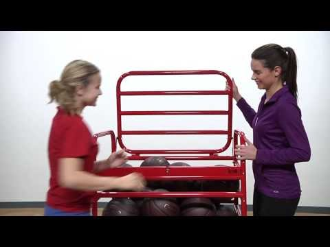 Pressure Sensitive Ball Cart