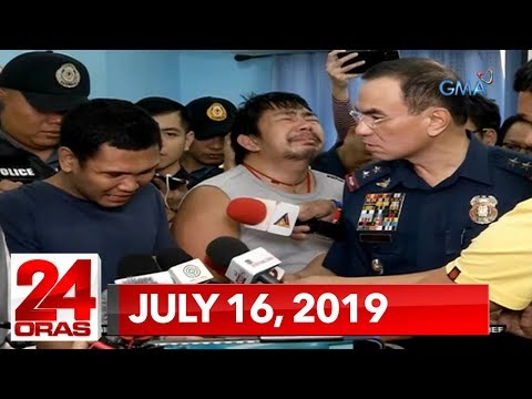 24 Oras: July 16, 2019 [HD] - 동영상