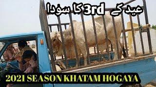 Eid k 3rd din Ka soda sohrab goth Cow Mandi season 2021