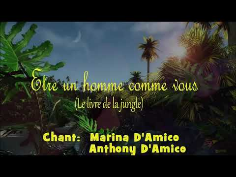Marina & Anthony D'amico Cover Le Livre De La Jungle