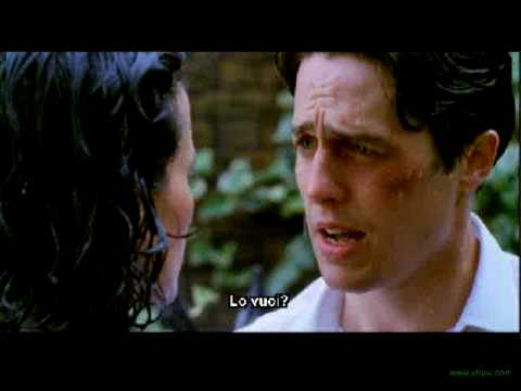 Four Weddings And A Funeral Final Scene Subles In Italian You