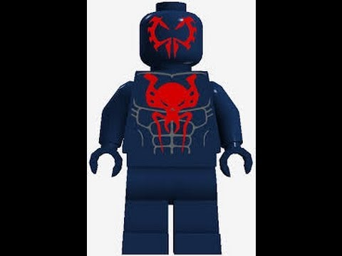 lego spiderman 2099 - photo #31