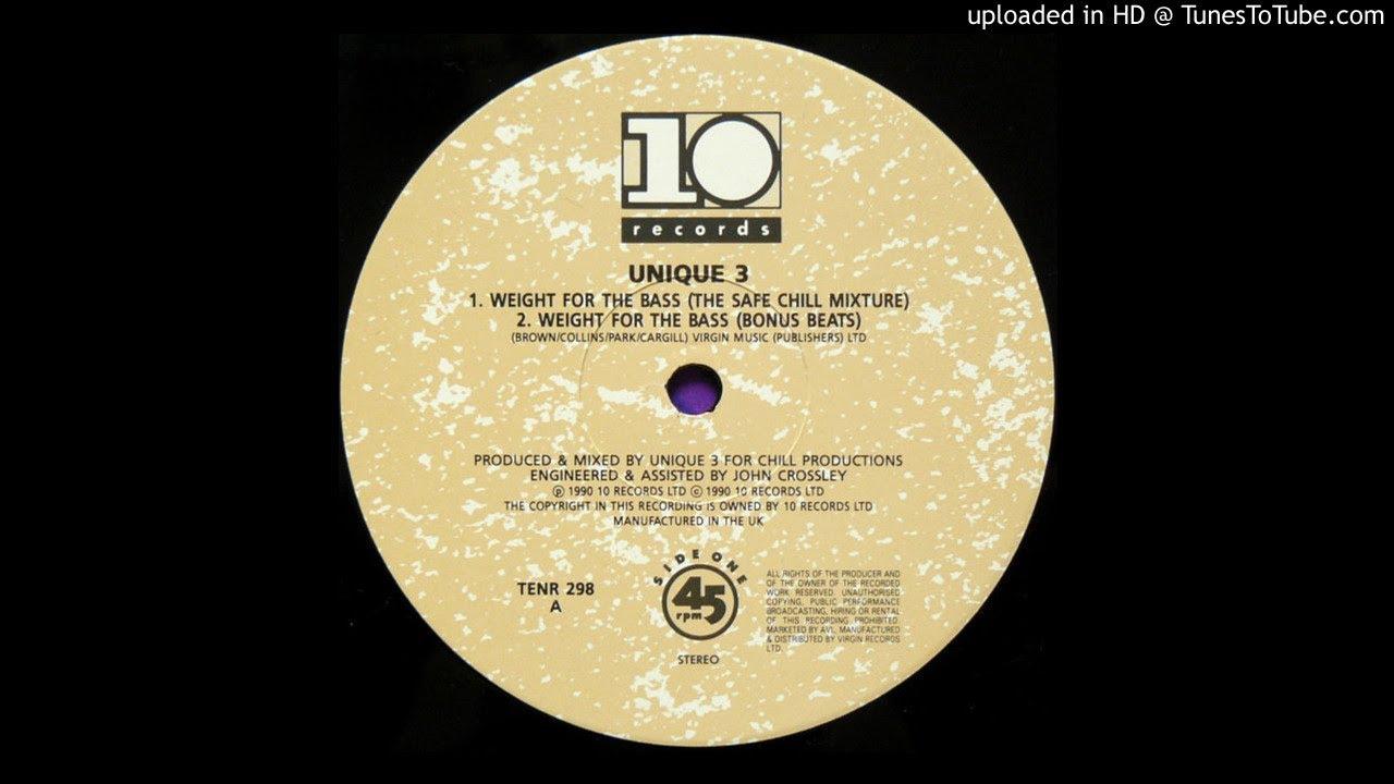unique iii - weight for the bass - bonus beats