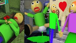 Monster School : BALDI'S SPECIAL - Minecraft Animation