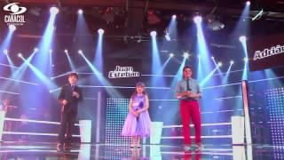 Adrián, Karen y Juan Esteban cantaron 'Malagueña' de Javier Solis– LVK Colombia – Batallas – T1