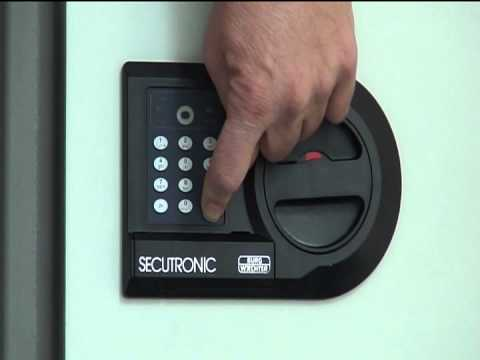 Combi Safes Operating Instructions