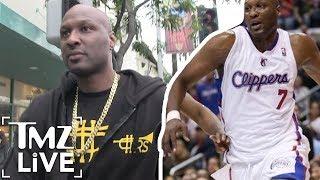 Lamar Odom Determined To Ball Again! | TMZ Live