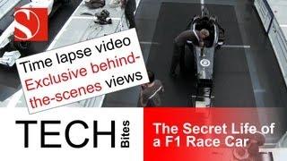 Time lapse: The secret life of a F1 race car - Sauber F1 Team