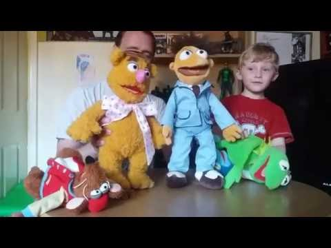 The Muppets Disney Store Plush Toys Review By Father And 4 Year Old Son