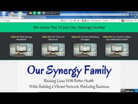Synergy Worldwide Network Marketing – Our Synergy Family Website