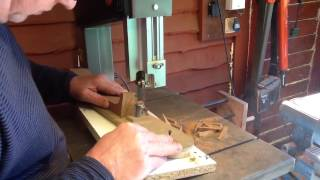 Ukulele Dovetails On The Bandsaw