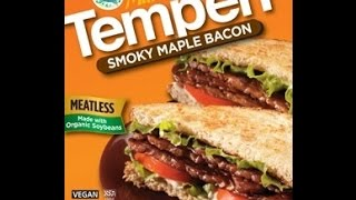 Product Review: Tempeh Maple Bacon Strips (vegan)