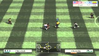 World Soccer Winning Eleven 8 (Xbox) - Colombia vs United States