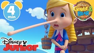 vuclip Goldie & Bear | Pinocchio-itis | Disney Junior UK