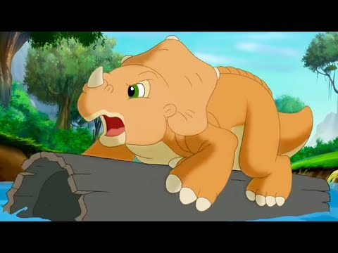 The Land Before Time | The Great Log-Running Game | 1 Hour Compilation | Kids Cartoon | Kids Movies