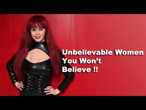 Top 20 Women You Won't Believe | Unbelievable 11-15