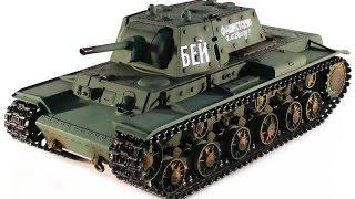 Обзор модели радиоуправляемый танка Taigen Russia KV-1 HC 2.4GHz 116 (TG3878-1HC)(KV-1 в масштабе 1:16 от компании Taigen - это полностью функциональная модель, имеющая высокий уровень детализации..., 2014-11-15T10:49:28.000Z)