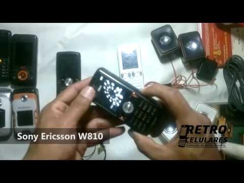 SONY ERICSSON W810 Colección Celulares Clásicos, Antiguos, Viejos Old Cell Phones RETRO CELULARES