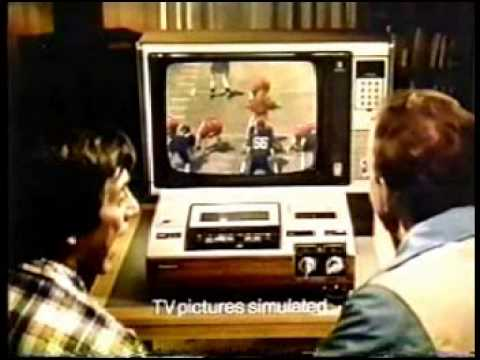 1978 Panasonic VHS VCR commercial