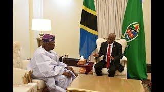Alichokizungumza Obasanjo na Magufuli