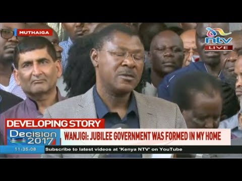 The journey to Canaan is unstoppable whether you like it or not - Moses Wetangula